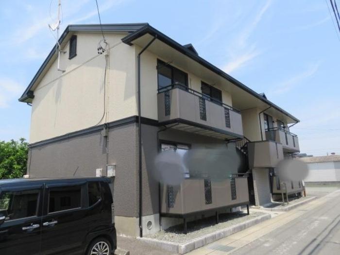 静岡インター近く、立地の良い2LDK、角部屋、駐車場1台付いています♪